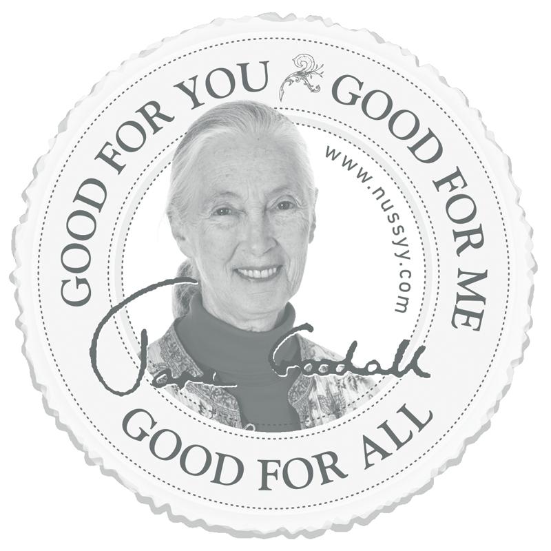 Jane Goodall Aufkleber