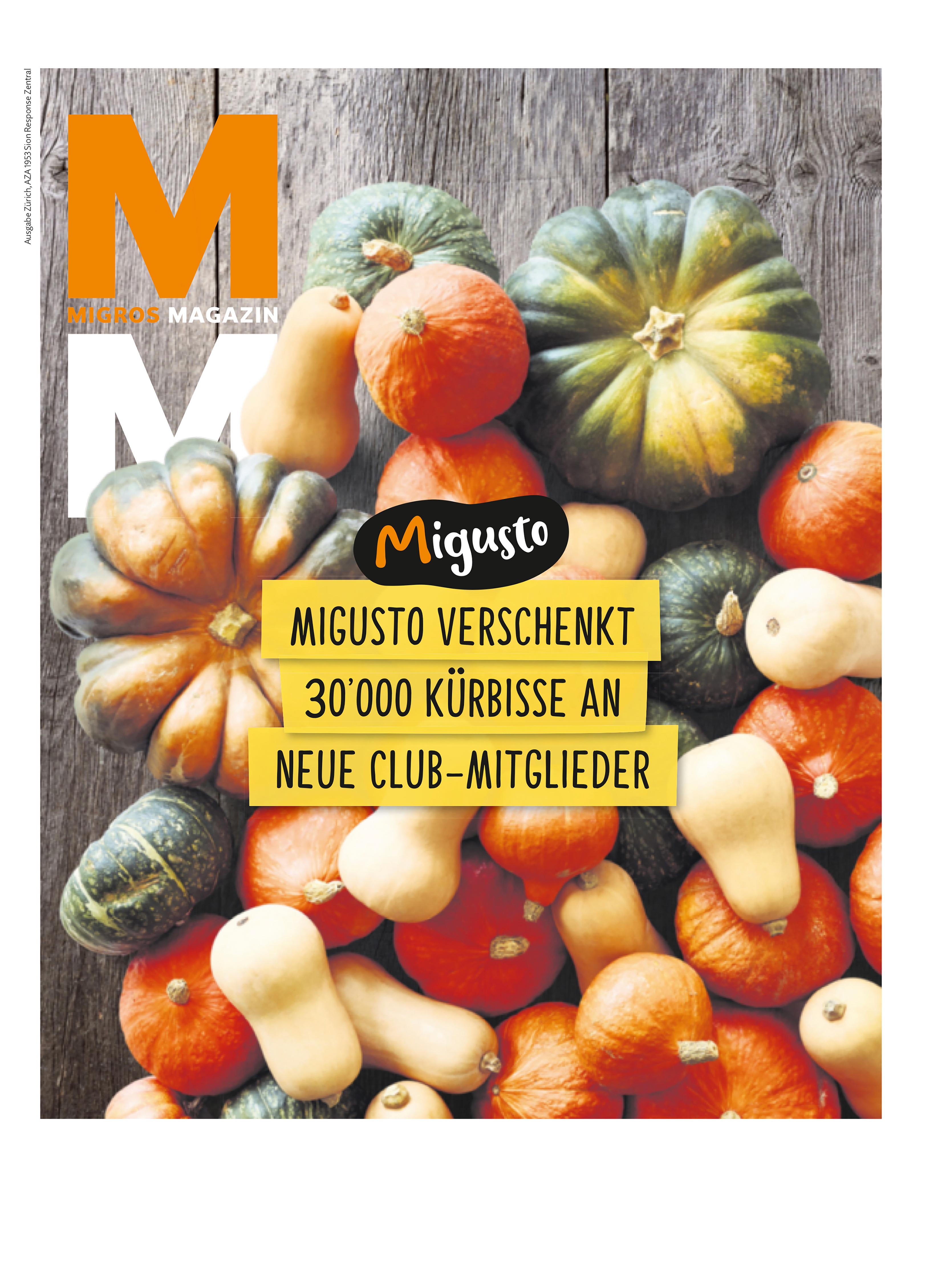 NUSSYY® im MIGROS MAGAZIN - COVER