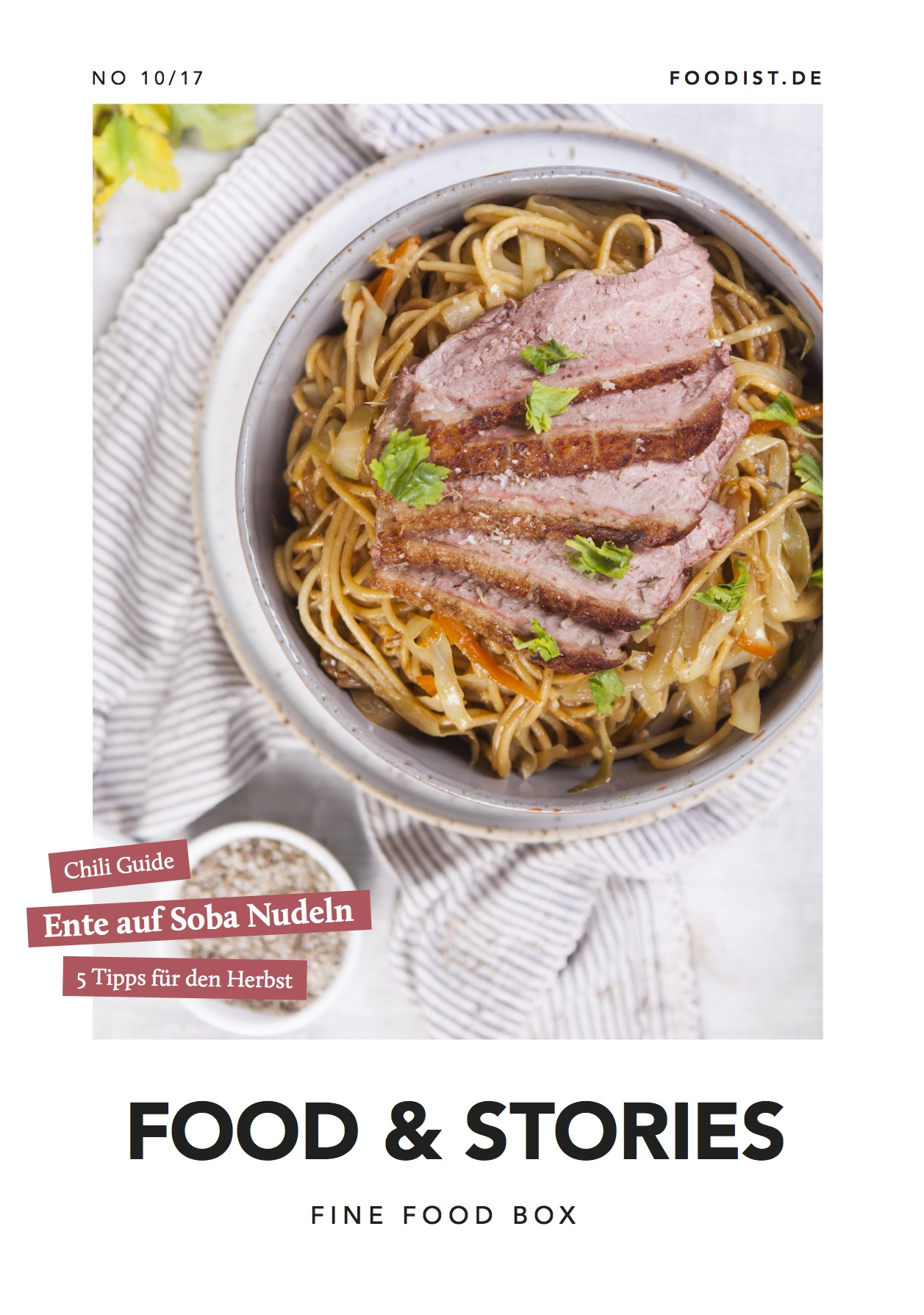 NUSSYY® im FOODIST MAGAZIN - COVER