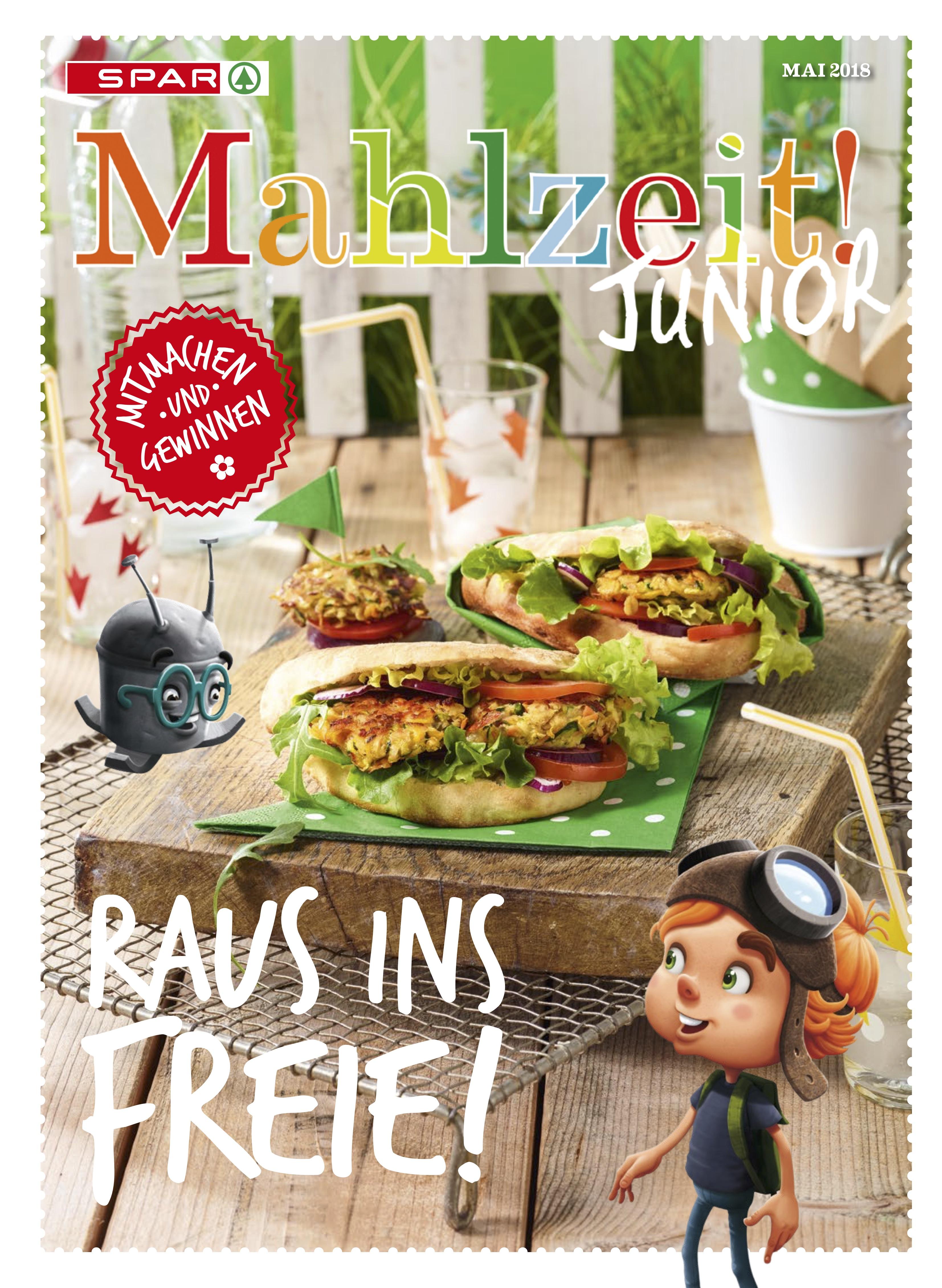 NUSSYY® im SPAR MAHLZEIT! JUNIOR - Cover