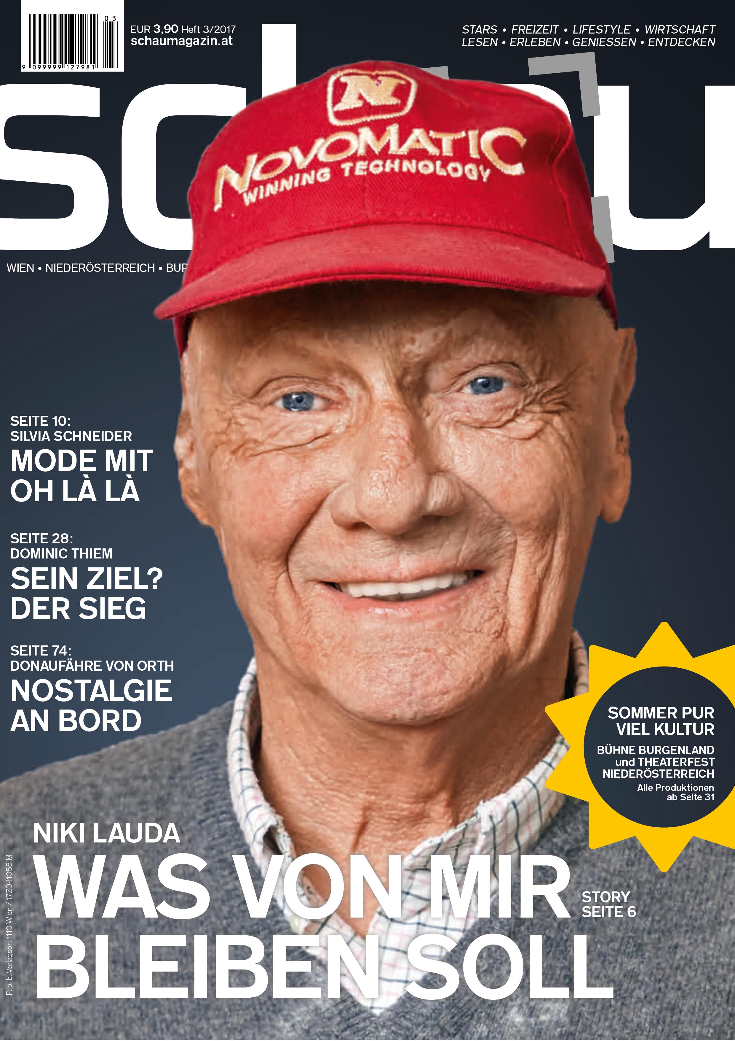 NUSSYY® im SCHAU Magazin COVER