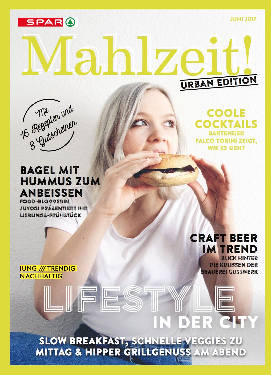 NUSSYY® im SPAR MAHLZEIT! MAGAZIN - COVER URBAN EDITION