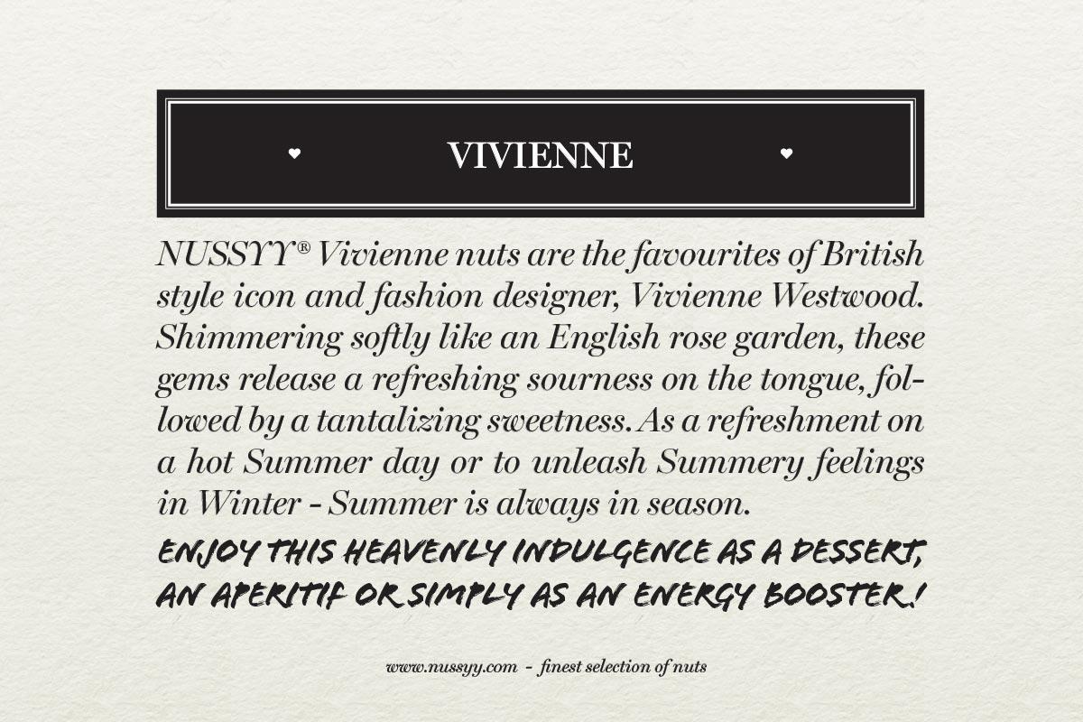 NUSSYY® VIVIENNE Flavour - Vivienne Westwood